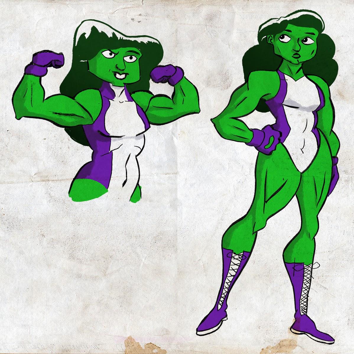 Lego She Hulk Oh and i colored that she-hulk