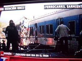 TERRIBLE ACCIDENTE DE FORMACIÓN DE PASAJEROS EN ESTACIÓN ONCE DE SEPTIEMBRE. SE HABRÍA QUEDADO SIN