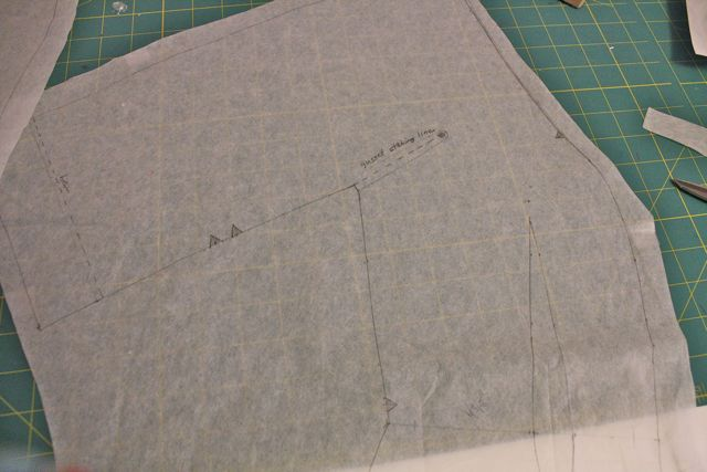 how to add underarm gusset