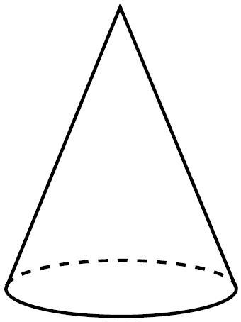 Solidos geometricos for Como puedo hacer un cono