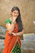 Actress Anusha Photos in Half saree-thumbnail-4