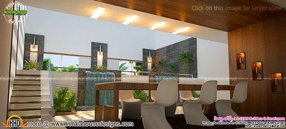 Modern dining interior