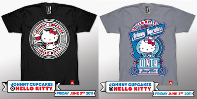 The Johnny Cupcakes x Hello Kitty T-Shirt Collection Wave 2