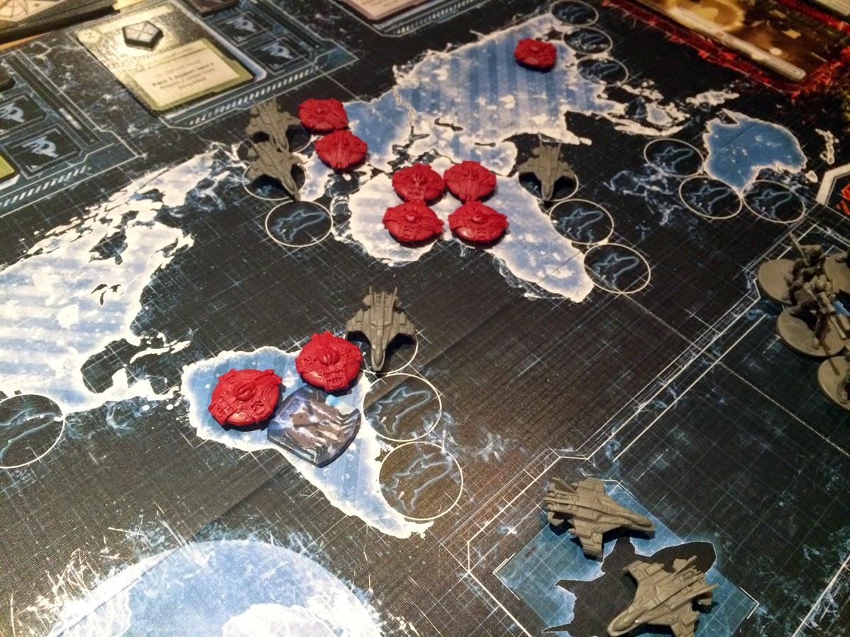 XCOM: The Board Game scramble interceptors