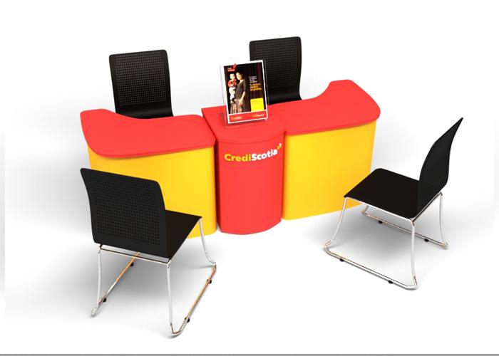 Dise o de escritorios personalizados crediscotia - Disenos de escritorios ...