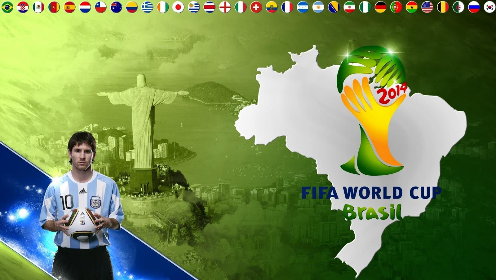 Hd wallpaper neymar - 2014 Fifa World Cup Wallpaper Messi Viewing Gallery