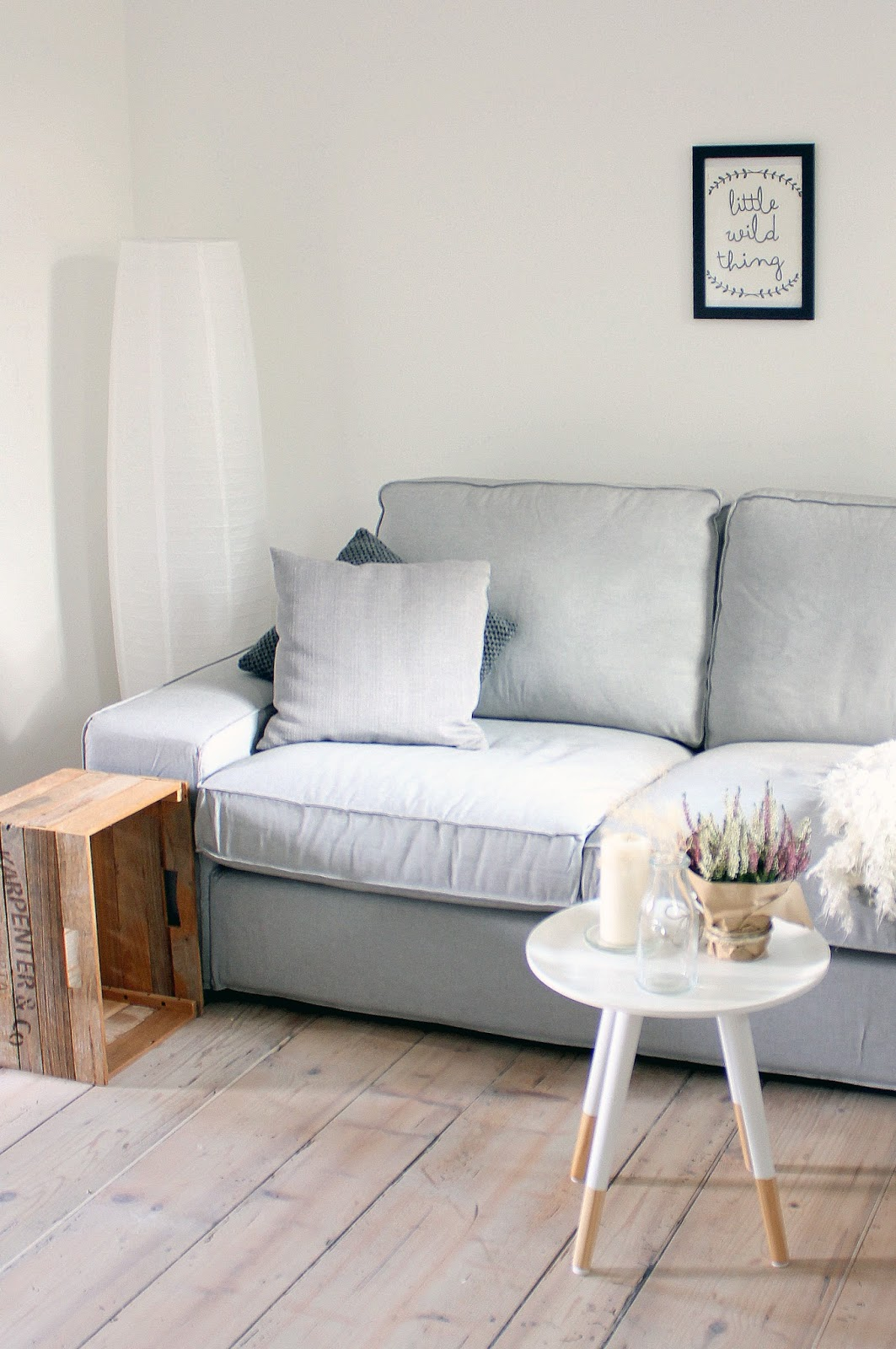Un divano per noi due la tazzina blu - Divano piccolo ikea ...