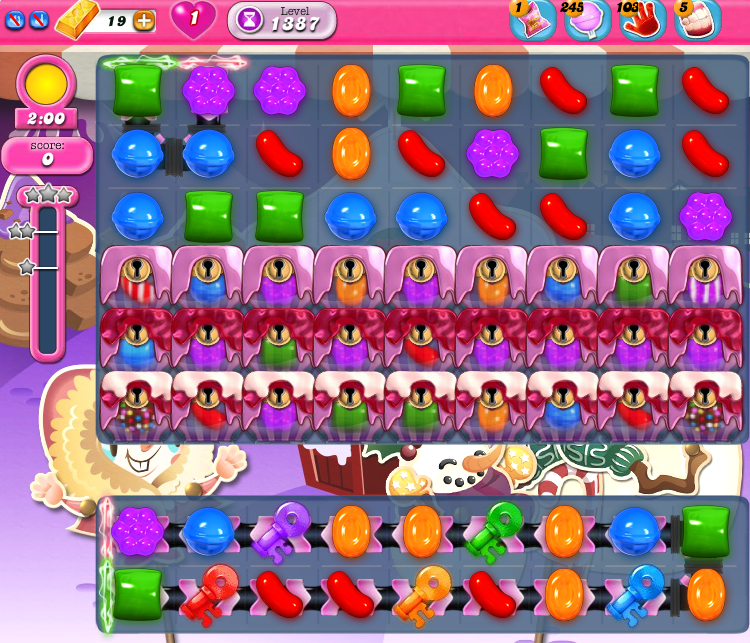 Candy Crush Saga 1387