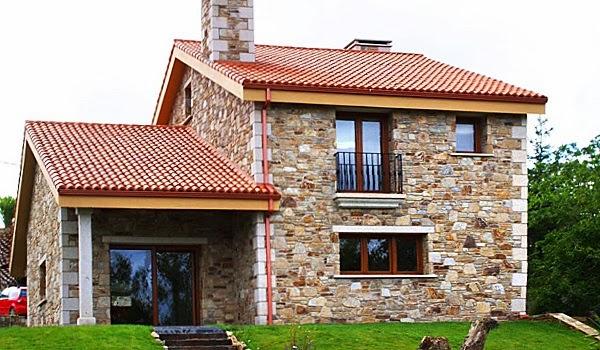 Fachadas de piedra fachadas de piedra asturias for Tipos de piedra para fachadas