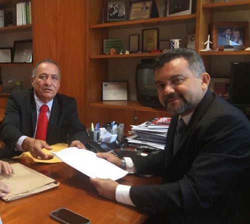 Prefeito Dr. Tinoco vai à Brasília em busca de novos investimentos para Aldeias Altas!!!