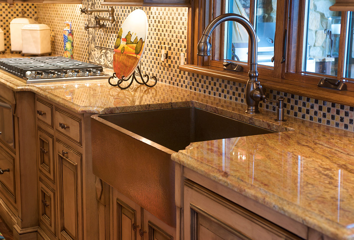 Textbook Mommy Guest Post Maintaining Copper Kitchen Sinks