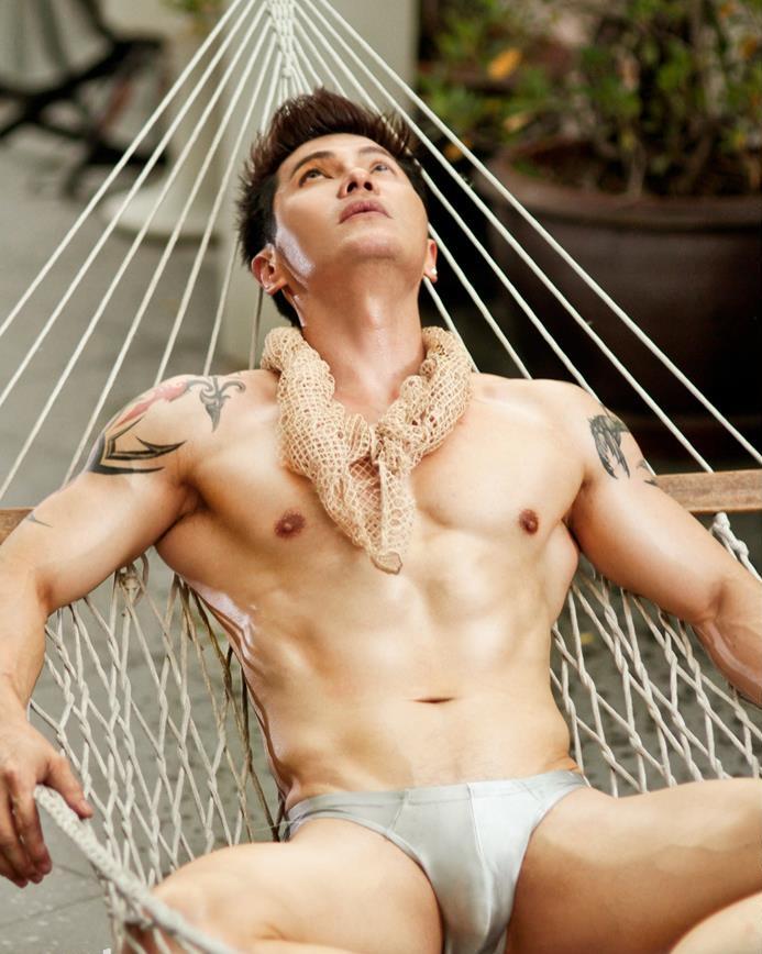 Naked thai male