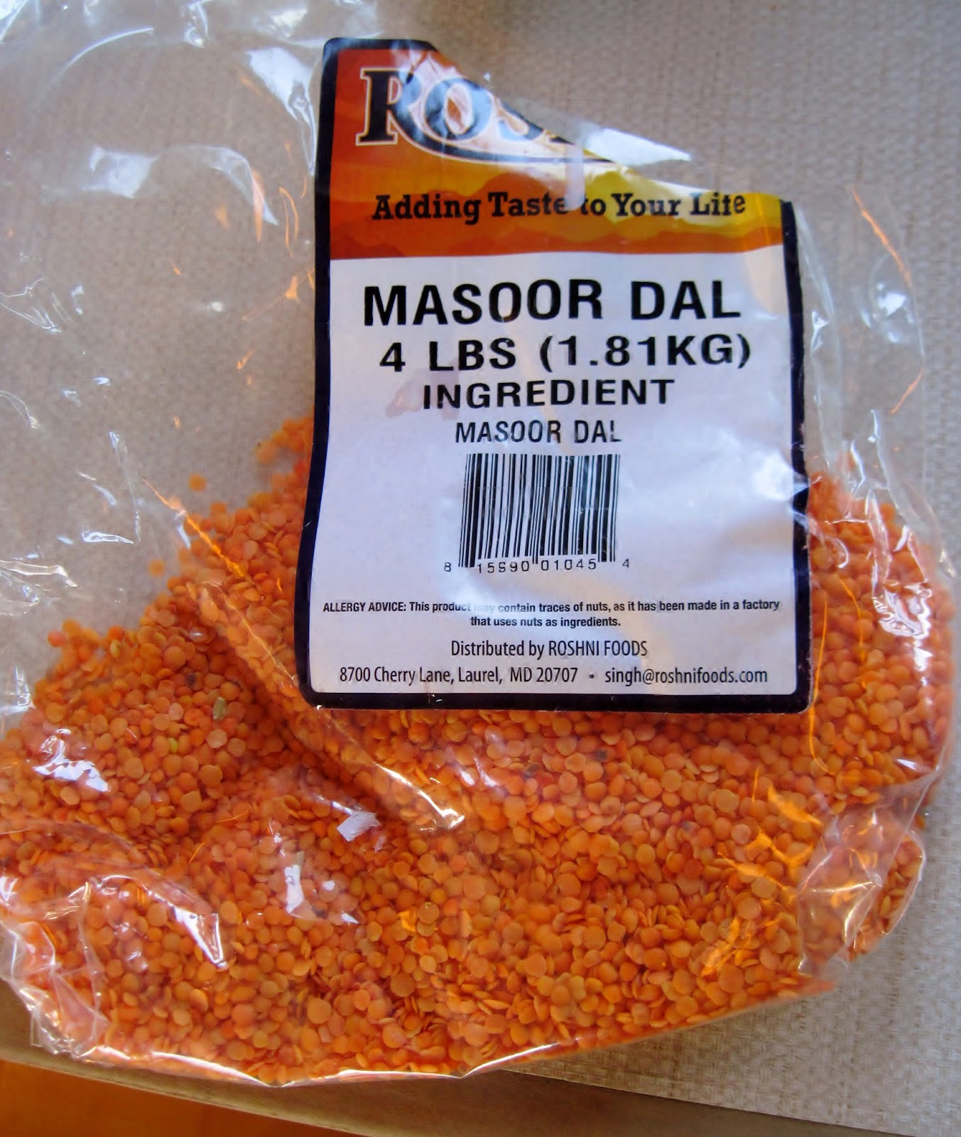 masoor dal red lentils
