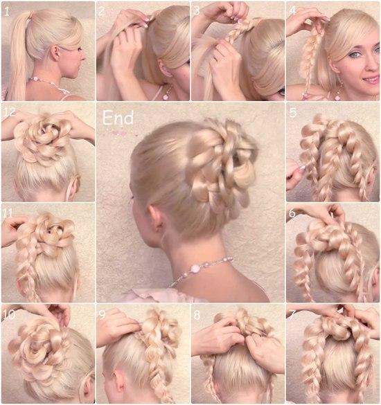 Как сделать причёску самой себе для детей