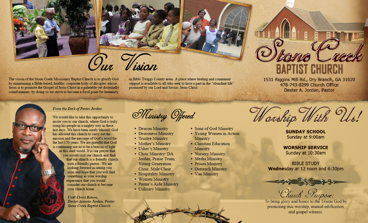 church brochure template - welcome to church services samples just b cause