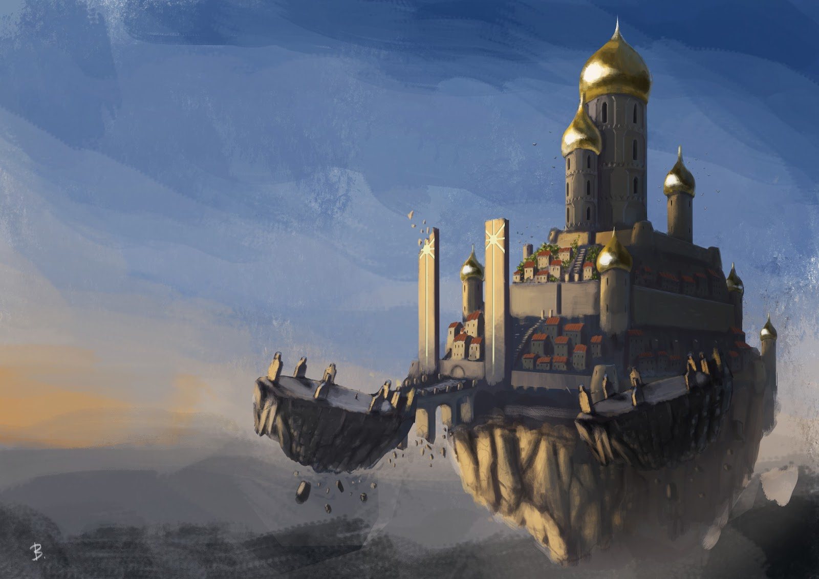 Art of artyom semenov sun castle final for Sun castle