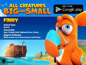 All Creatures Big and Small finny card