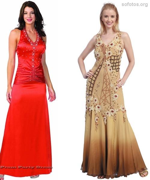 Fotos de lindos vestidos de festa 2012