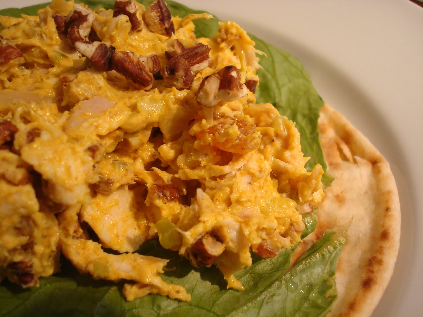 Hot Dinner Happy Home: Curried Chicken Salad with Yogurt