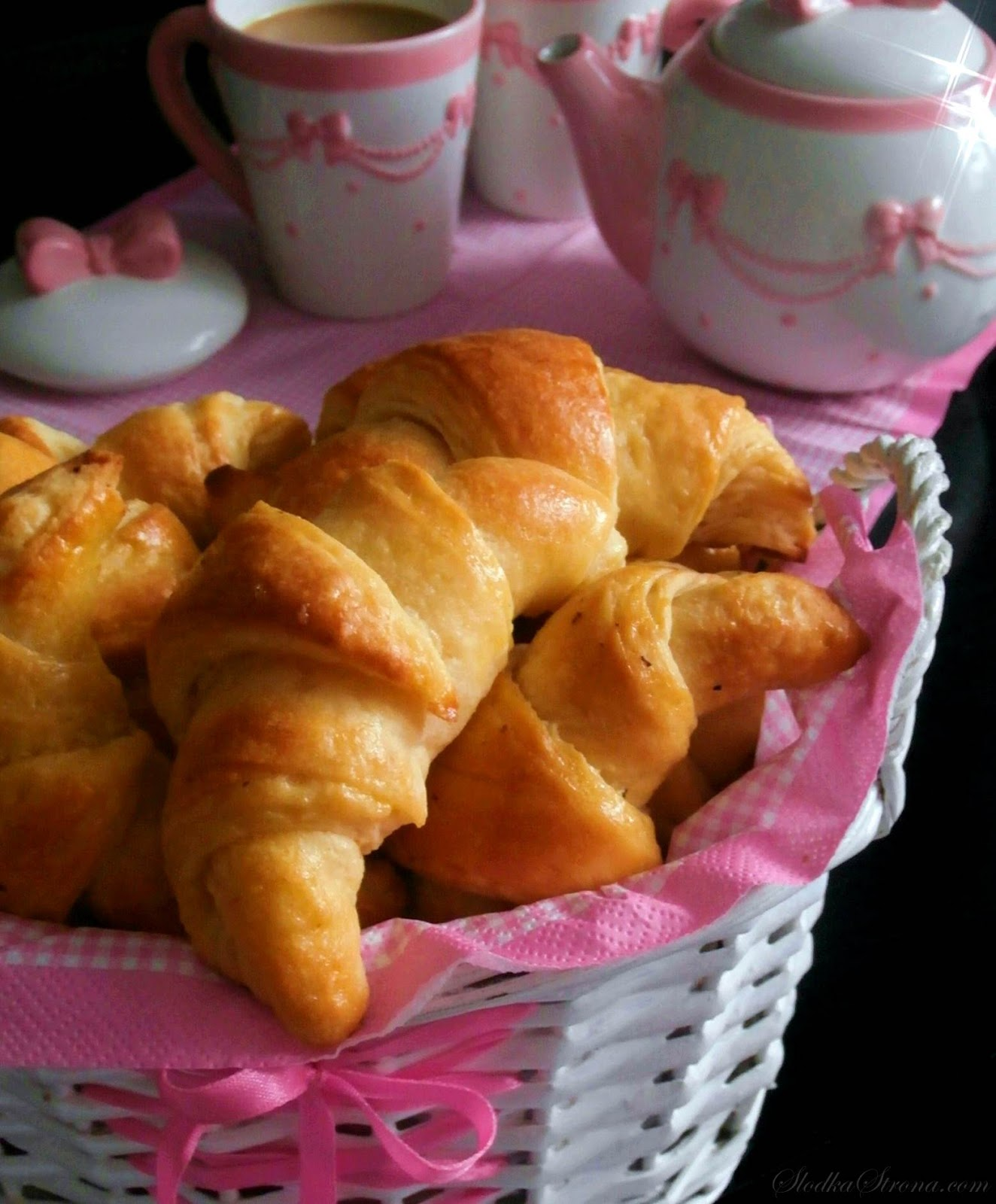 Mini Croissants - Przepis - Słodka Strona