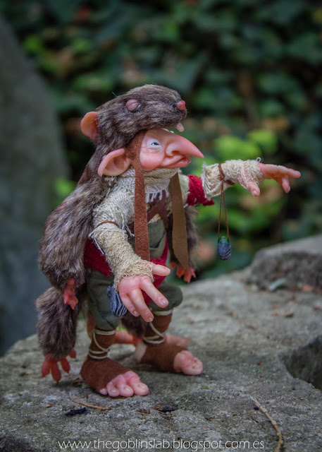 ooak fantasy magic creature elf goblin faerie