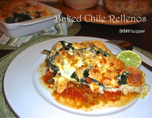 Skinny Supper: Baked Chile Rellenos