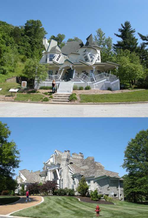 Rumah Dengan Desain Paling Berantakan di Dunia