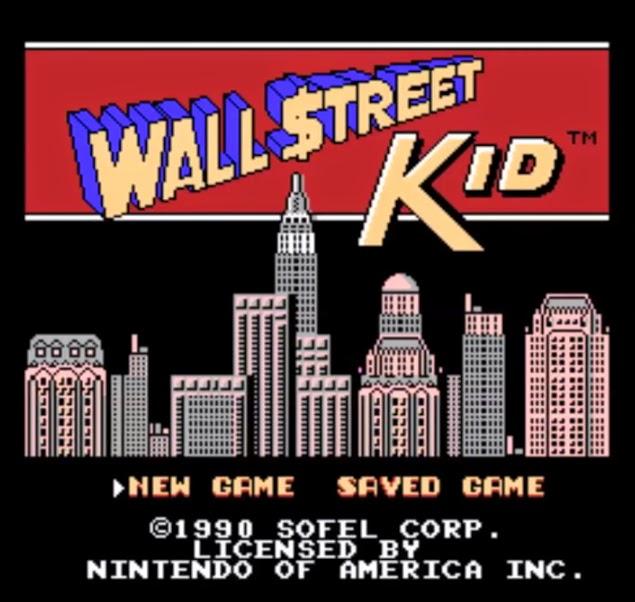 Wall Street Kid NES