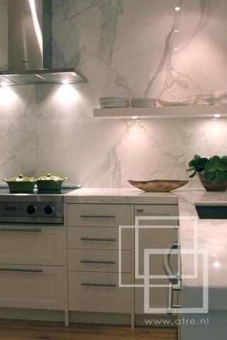 Inspiratie in natuursteen: ikea keukenbladen