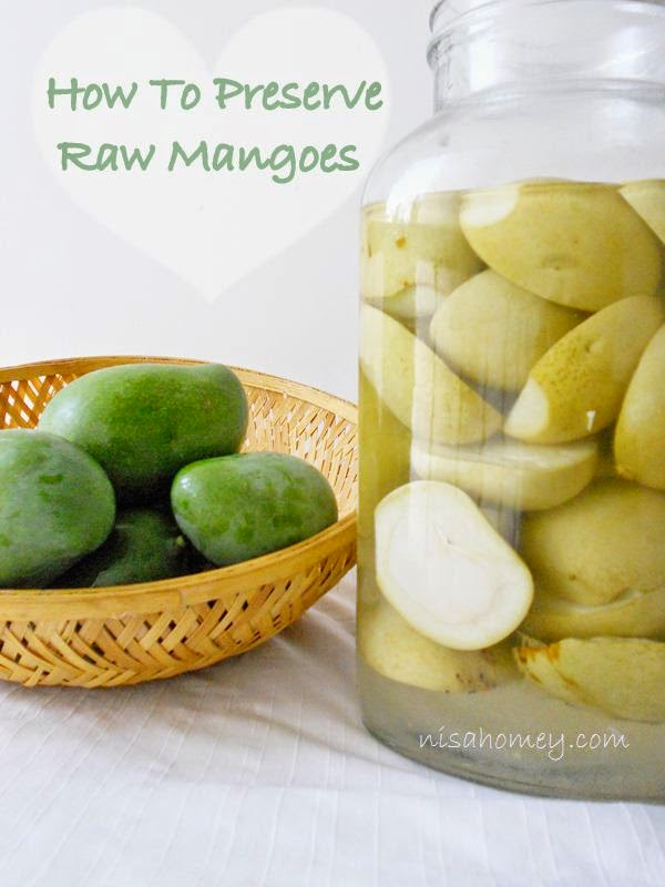 How To Preserve Raw Mangoes