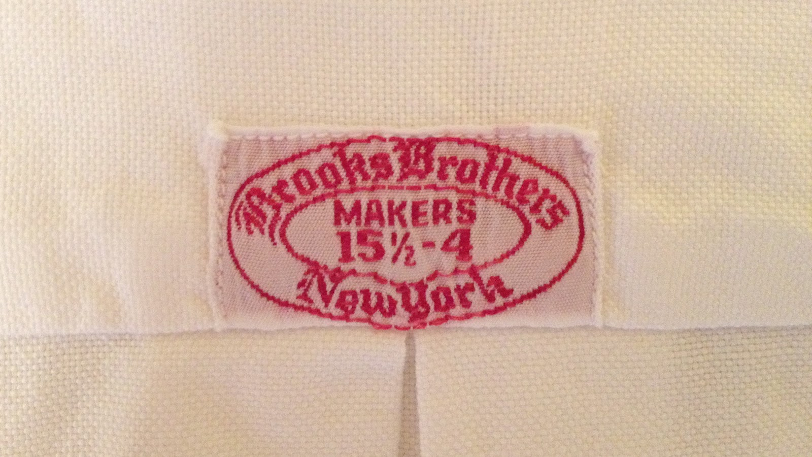 dating brooks brothers labels The brooks label on the inside of the coat was embellished with an embroidered design of an american bald eagle holding in its beak a flowing pennant inscribed one country, one destiny a golden age by the turn into the twentieth century, brooks brothers was on the verge of a golden age, the period from roughly 1900 to 1970.