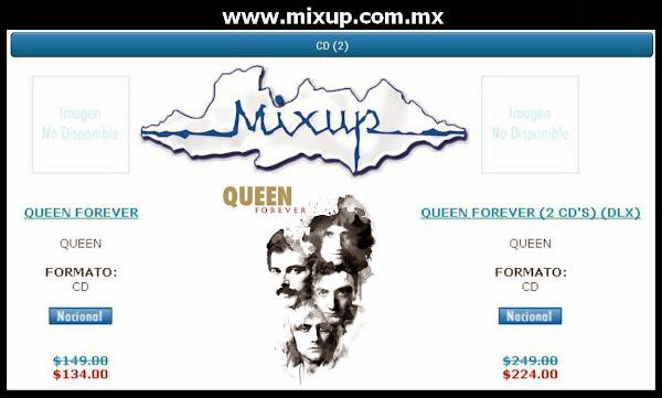 Queen Forever ¡YA está A LA VENTA en Mixup! www.mixup.com.mx
