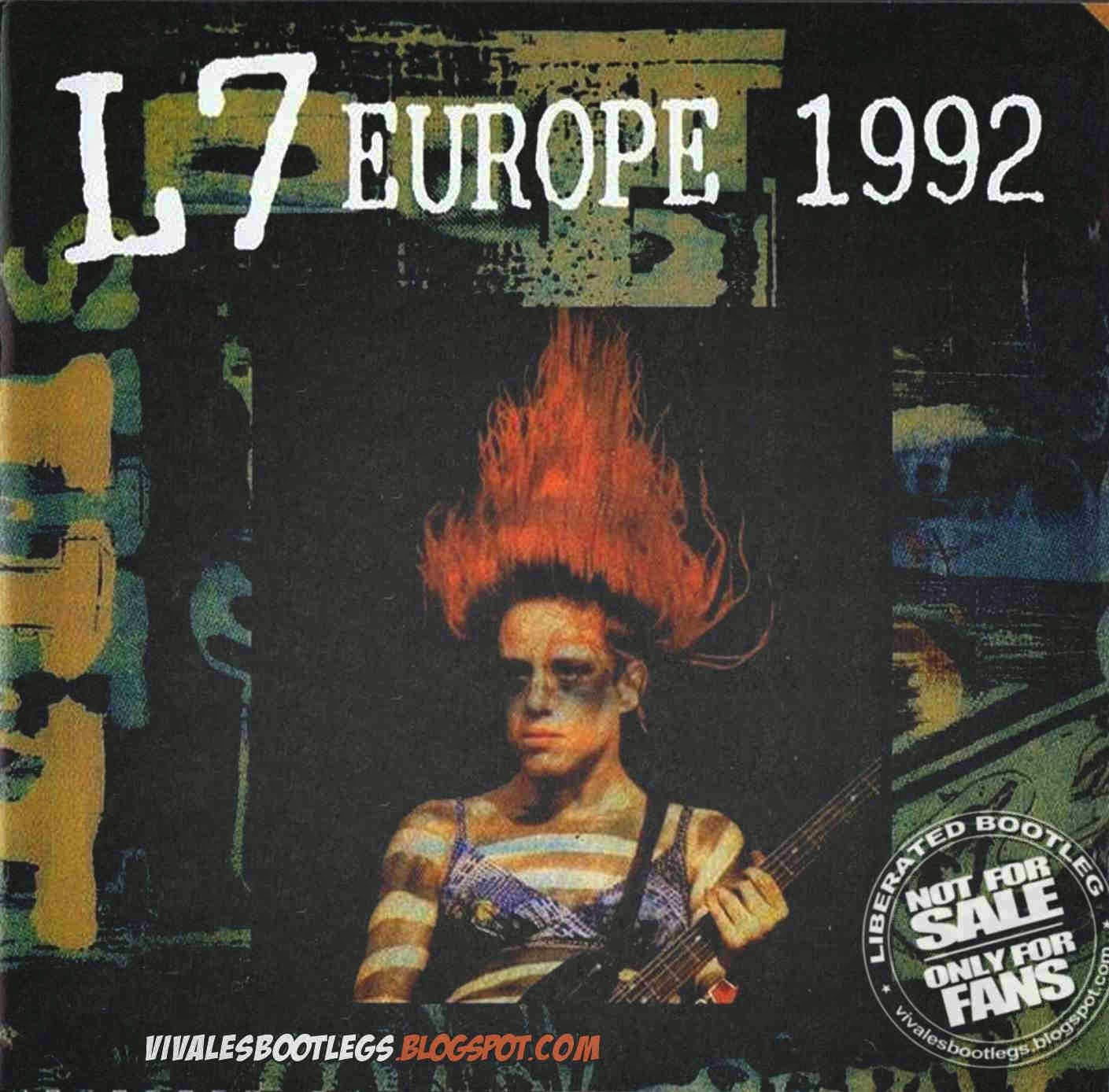 L7 Europe 1992 Front Cover
