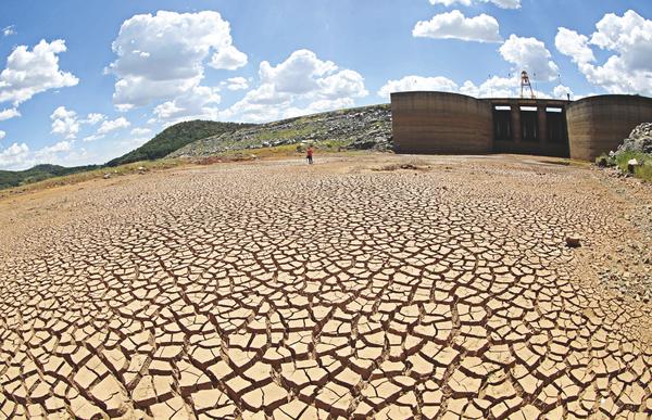 Aktuelle Wasserversorgung in São Paulo