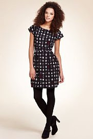 41QB8Ly1eBL. SX182 SH35  FrOctober Friday   The M&S Owl Print Dress