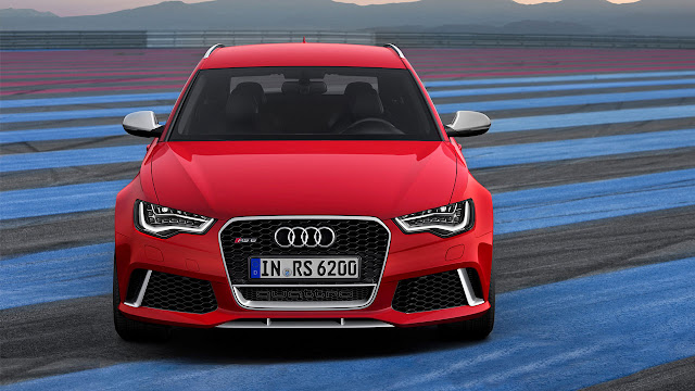 The all-new Audi RS 6 Avant front