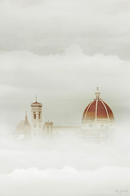 Florence Duomo in the fog