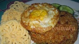 resep nasi goreng telur ceplok