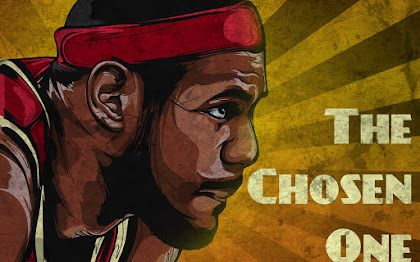 LeBron James the chosen One Wallpaper