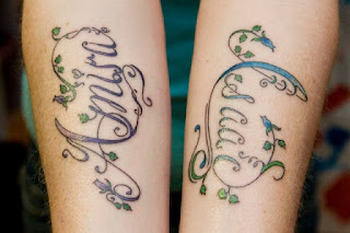 Vine Tattoos with Names
