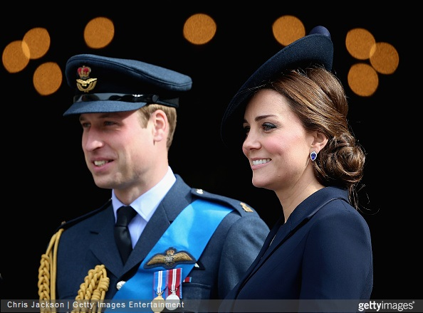 Prince William, Duke of Cambridge and Catherine, Duchess of Cambridge leave St Paul's Cathedral after a Service of Commemoration for troops who were stationed in Afghanistan