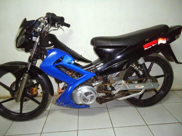 modifikasi body motor f1zr