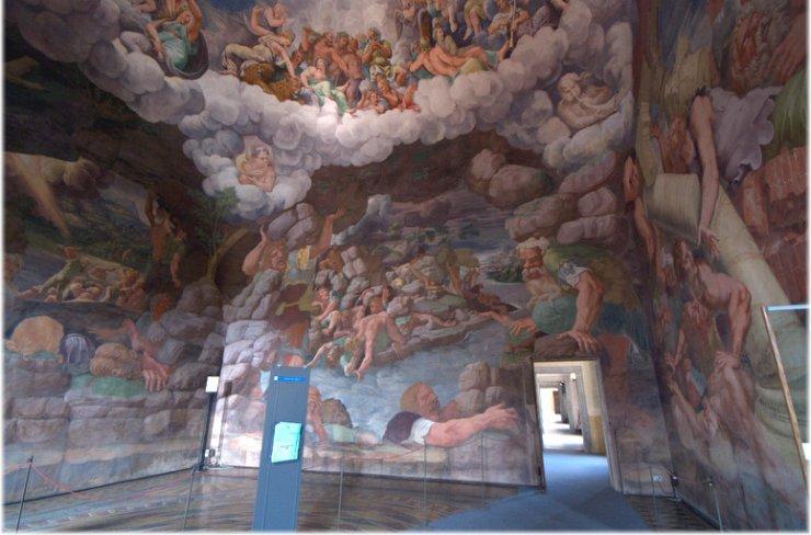 Crossmedial information unit i giganti del palazzo di for Stanza mantova