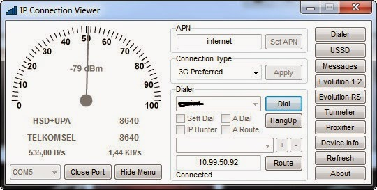 IPCV IP connection viewer
