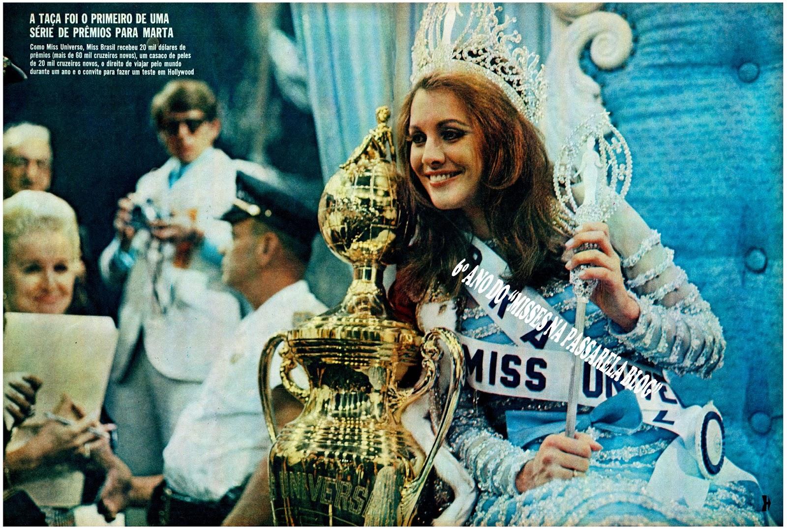 ☽ ✮ ✯ ✰ ☆ ☁ Galeria de Martha Vasconcelos, Miss Universe 1968.☽ ✮ ✯ ✰ ☆ ☁ Martha+no+trono+68