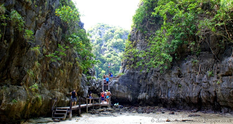 'The Beach' or Maya Bay Thailand