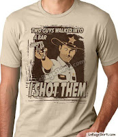 Rick Grimes The Walking Dead T-Shirt