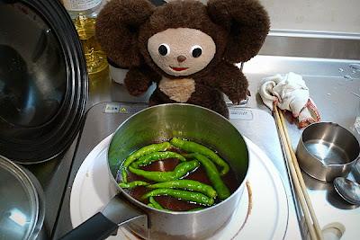 伏見とうがらしの炊いたんの作り方