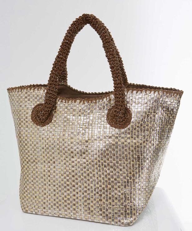 Damart Straw Strap Bag