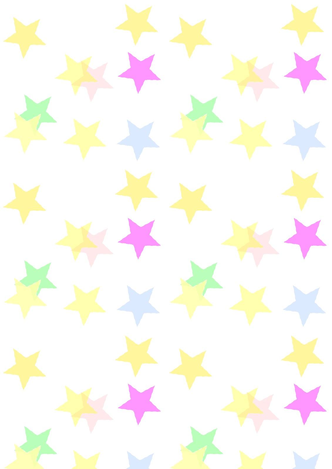 Free Digital Star Confetti Scrapbooking Paper